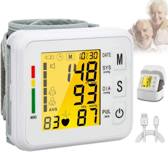 The Wrist Automatic Blood Pressure Monitor
