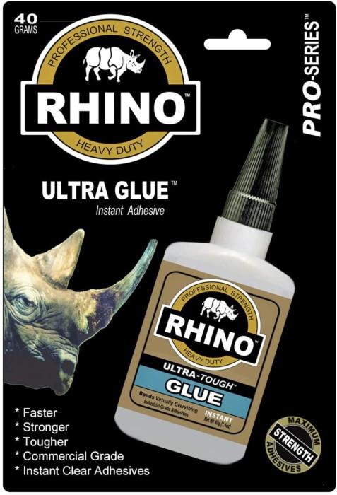 Rhino Glue, Best Glue from Glass to Wood