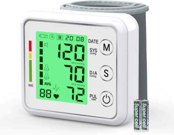 Blood Pressure Cuff IVKEY, Automatic Large Backlight LCD
