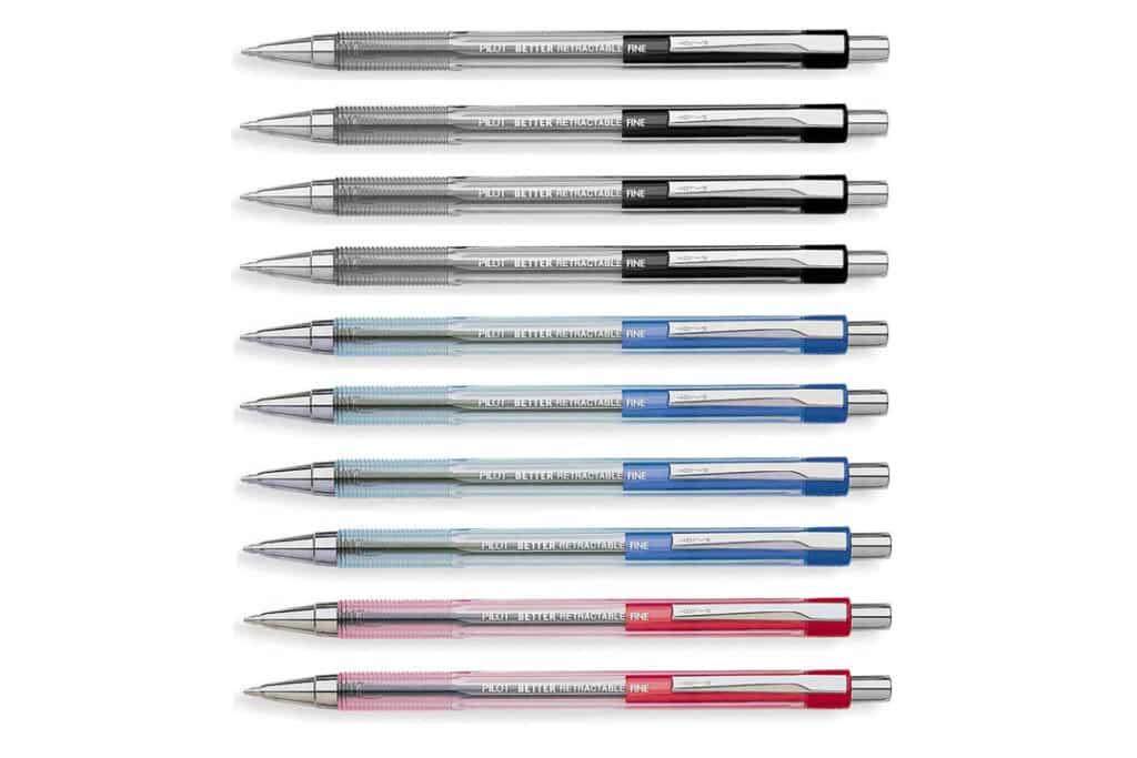 Pilot Better Retractable Ballpoint Pen