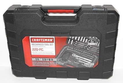 Craftsman 220 pc. Mechanics Tool Set with Case: