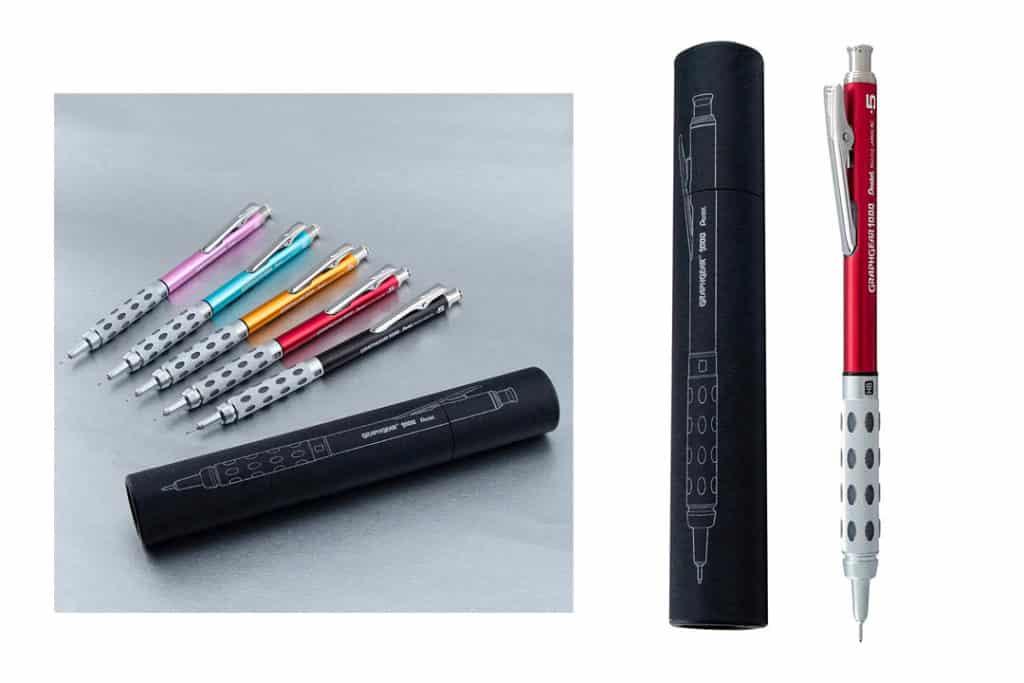 Pentel Limited Edition GraphGear 1000 Colors Mechanical Pencil