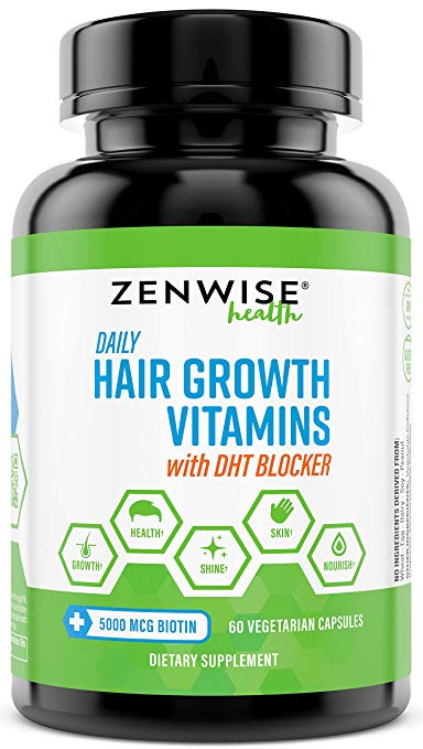 Hair Growth Vitamins Supplement from Zenwise: