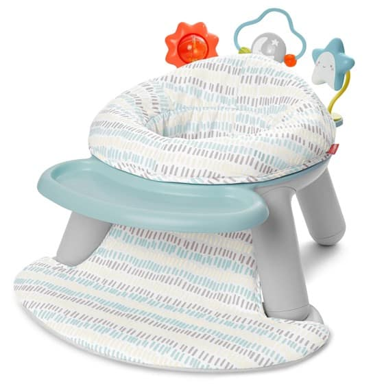 Fisher-Price 2021 Bumbo Seat with Lion Padded Back Support