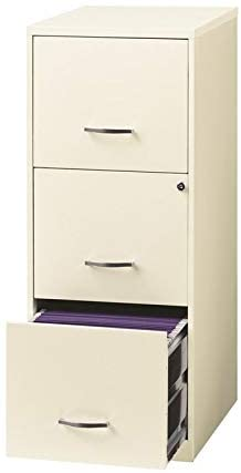 Iron Skanton 3 Drawer File Cabinet