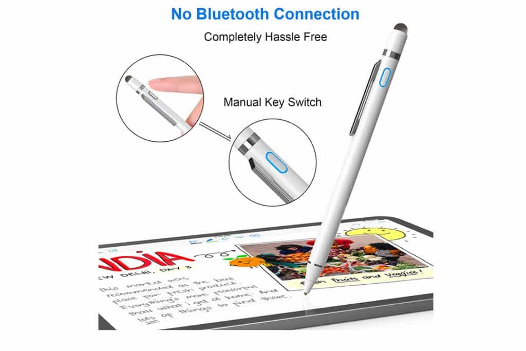 Stylus Pen for iPad, NTHJOYS 2 in 1 Rechargeable Digital Pen