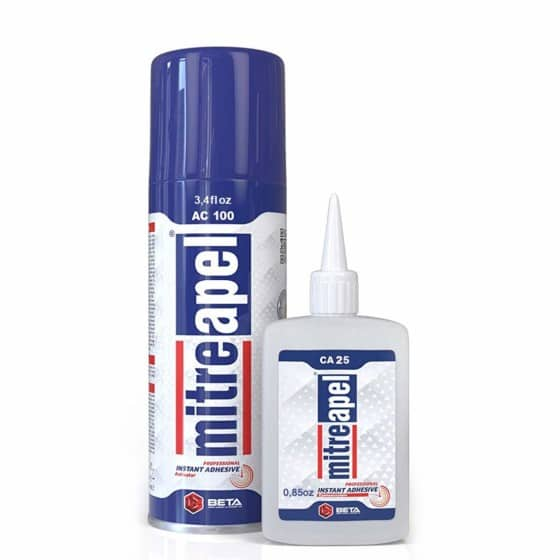 The Silicone Glue Glass MITREAPEL Super CA Glue