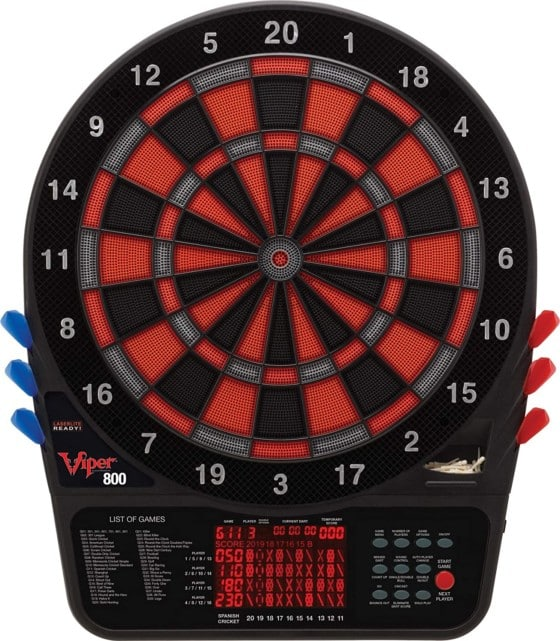 The 800 Electronic Dartboard from Viper