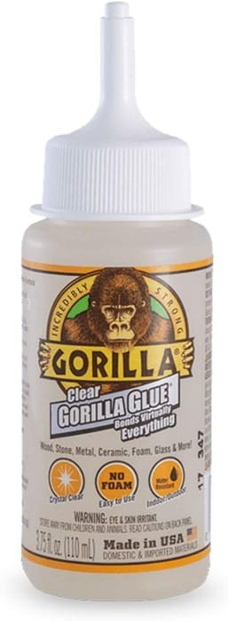 The Removable Glue for Glass by Gorilla