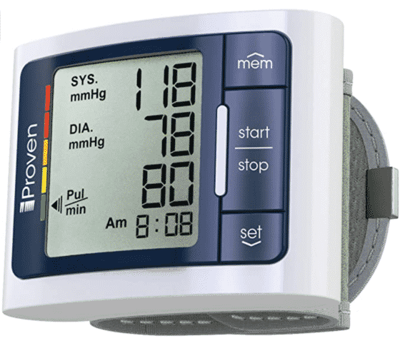 Proven Digital Blood Pressure Monitor Wrist or Arm Cuff