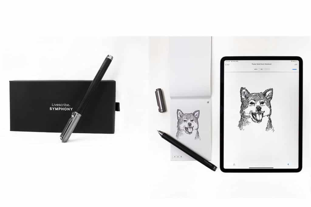 Livescribe Symphony Smartpen Bluetooth Digital Pen