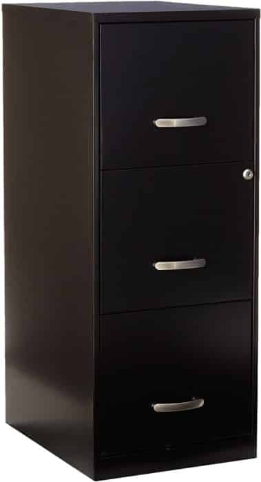 Lorell SOHO: the Best 3 Drawer File Cabinet