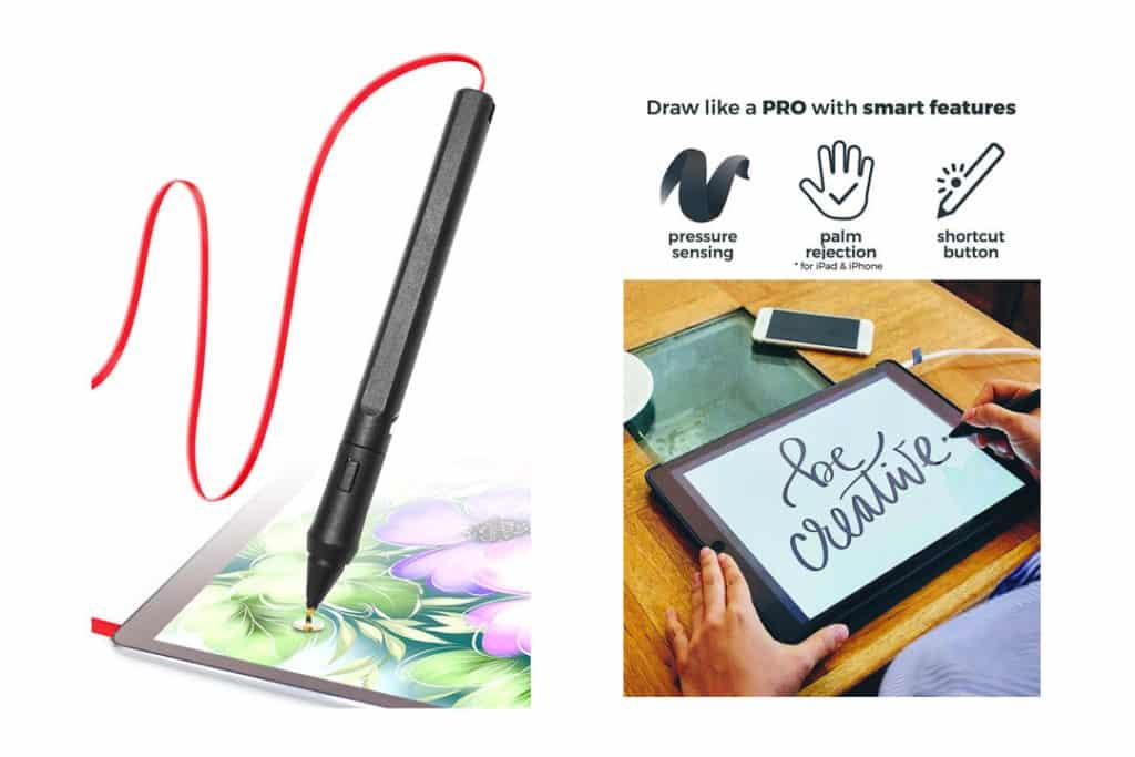 SonarPen - Pressure Sensitive Smart Stylus Pen