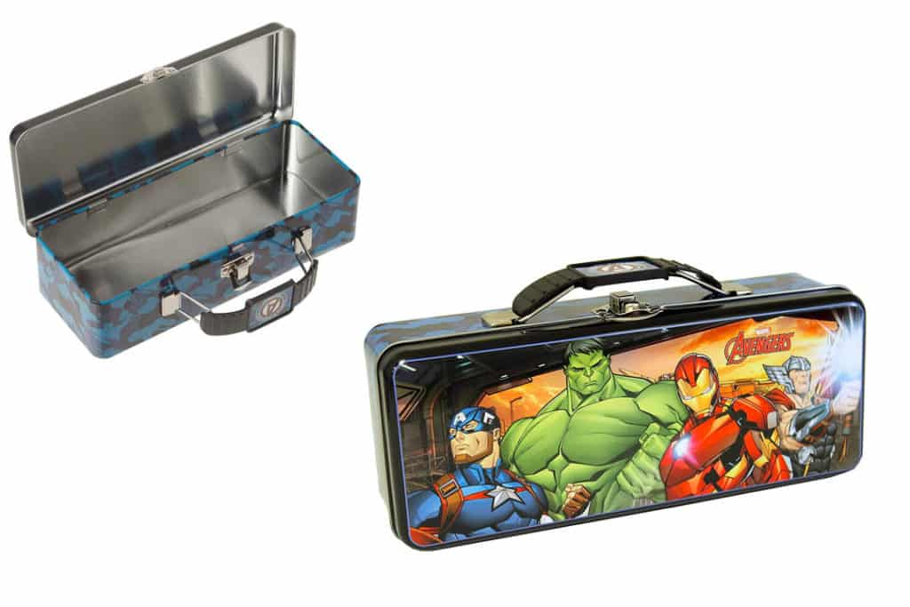 The Tin Box Company Avengers Pencil Box
