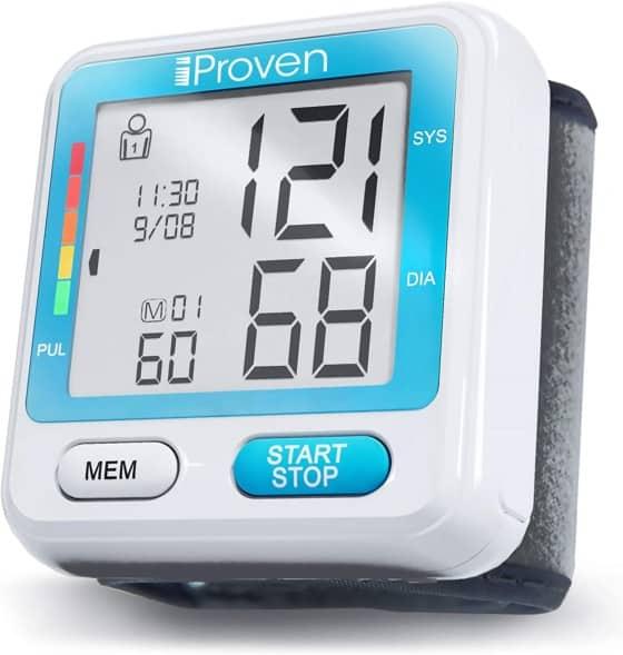 iProven Wrist Blood Pressure Monitor Cuff BPM-317