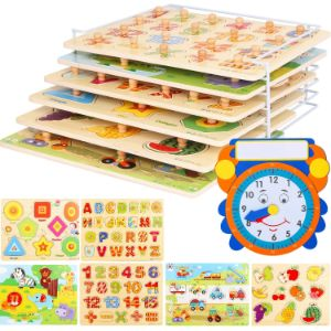 5. Asher and Olivia Puzzles and Rack Set