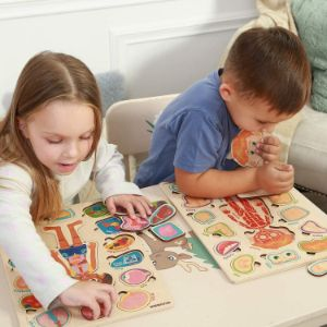 10. Human Body Parts Anatomy Puzzles for Kids
