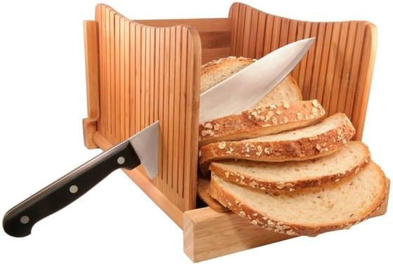 DBTech Bamboo Bread Slicer