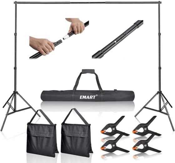 Emart 10Ft Photo Video StudioBackdrop Stand