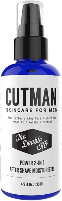 Cutman After Shave Balm + Face Moisturizer For Men