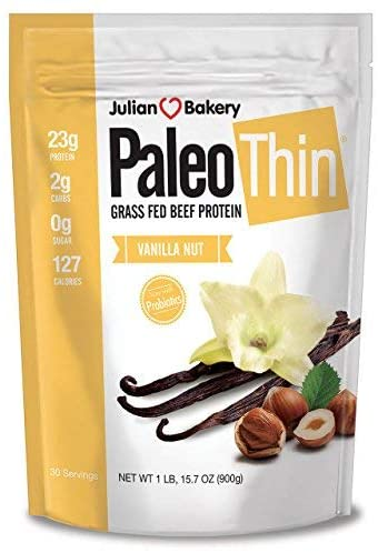 Julian Bakery Paleo Thin Grass-Fed Beef Protein Powder