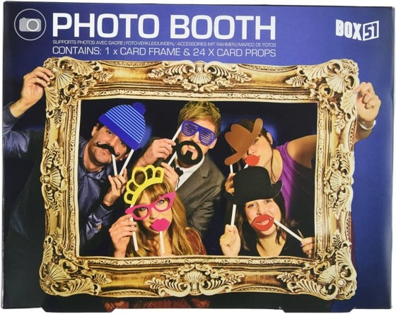 Box51 Photo Booth Props, Classical Photo Frame