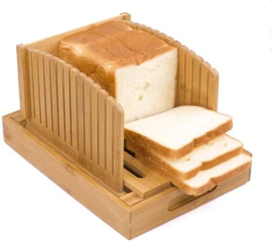 Toughard Bamboo Bread Slicer