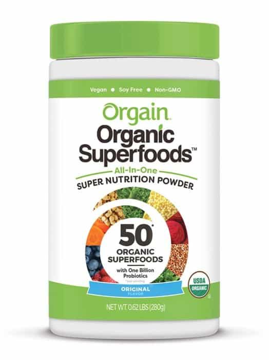 Orgain Organic Original Green Superfoods Powder
