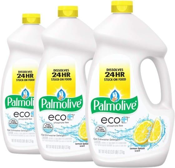 Palmolive Eco Dishwasher Detergent Gel, Lemon Splash