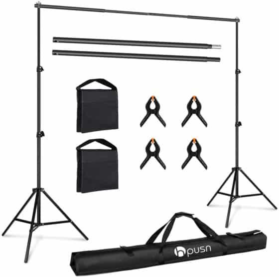 HPUSN Photo Video Studio Backdrop Stand