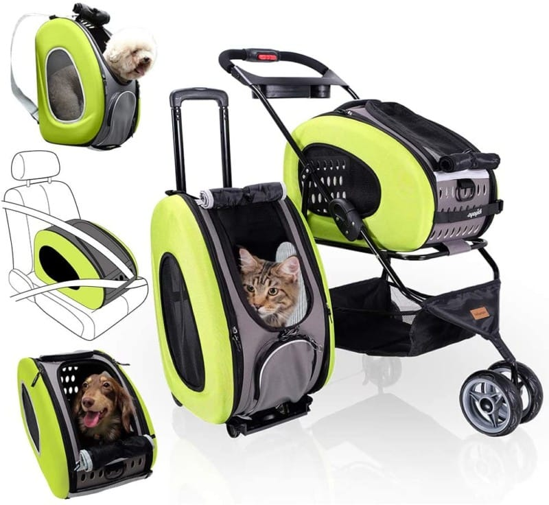 Ibiyaya 5-in-1 Dog Stroller