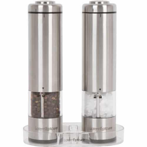 Latent Epicure Battery Operated Salt and Pepper