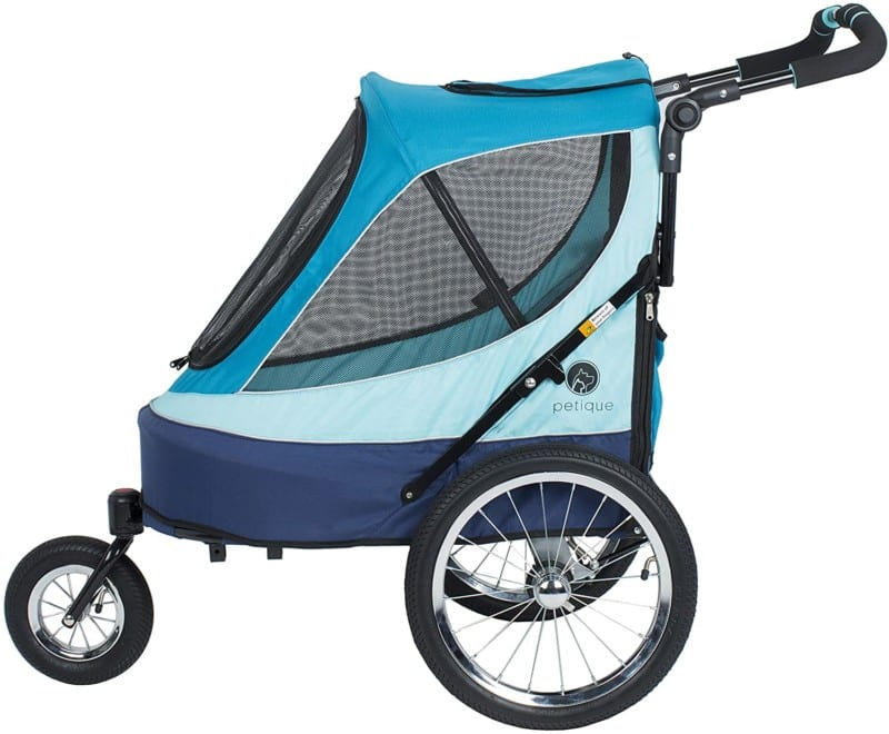 Petique All Terrain Jogger Pet Stroller