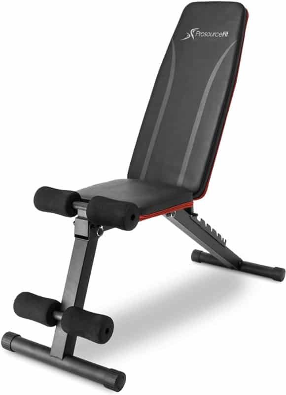 ProsourceFit Foldable and Adjustable Weight Bench