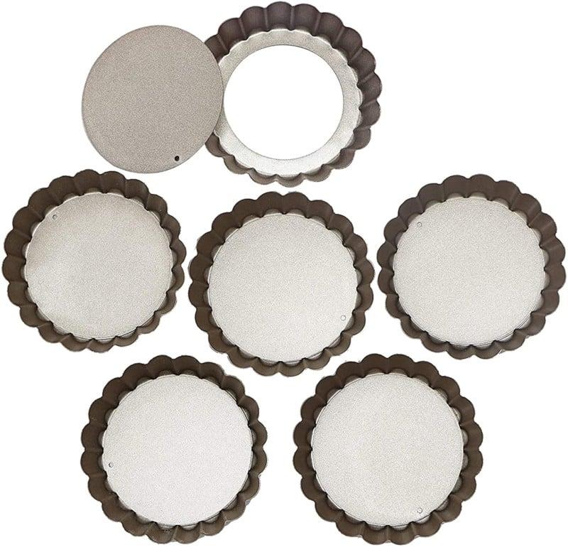 1. Webake Mini Quiche Pan Set