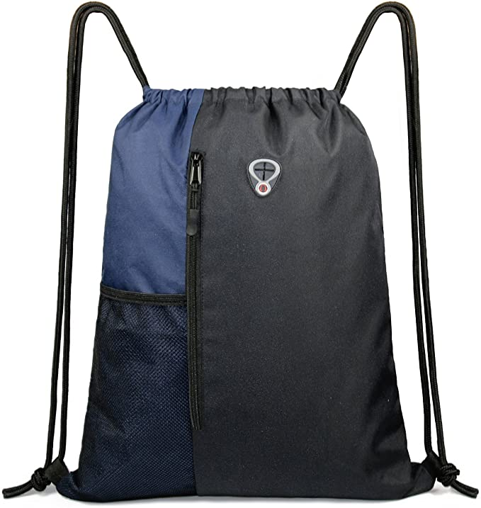 11. BeeGreen Black Drawstring Bags