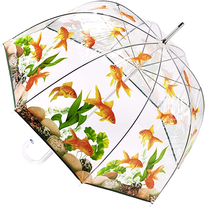 Goldfish Bubble Umbrellas by Galleria Enterprises