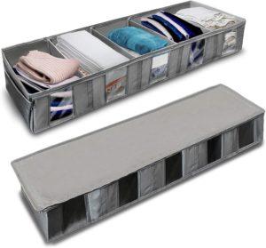 shoe underbed storage