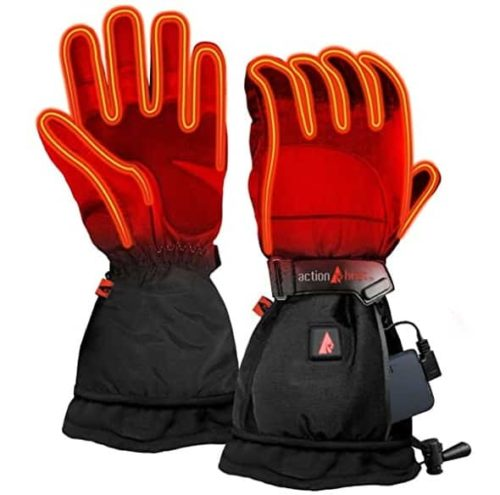 ActionHeat Battery Electric Heated Gloves for Women