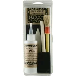 15. Lineco Book by Hand PVA Glue Adhesive Kit