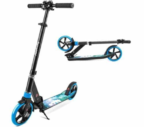 Besrey Foldable Two Wheeled Kick Scooter