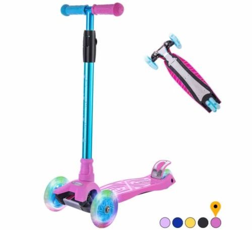 Best Color Selection: WONDER VIEW 3 Wheel Scooter for Kids with Height Adjustable