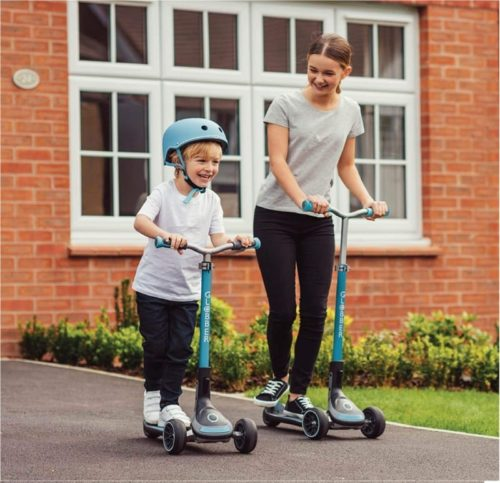Best Design: Globber 3 Wheel Scooter for Kids and Adults with Adjustable Steering