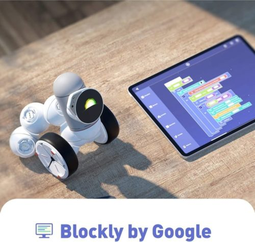 ClicBot Coding Educational Smart Robot Kits for Kids with Touch Screen
