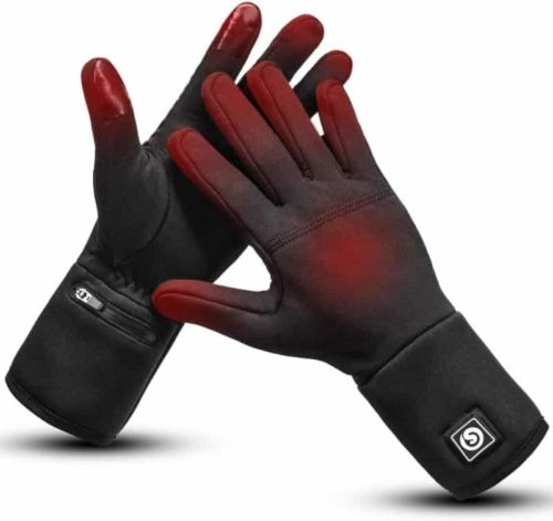 Day Wolf Electric Heated Gloves Liners for Men and Women