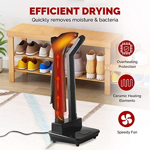 Dr. Prepare Electric Boot Dryer with Heat Blower