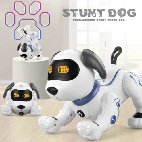 Fisca Smart Remote Control Electronic Robot Dog Toy with Sound