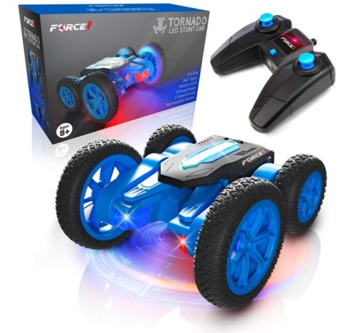 Force1 RC LED Remote Control Car for Kids