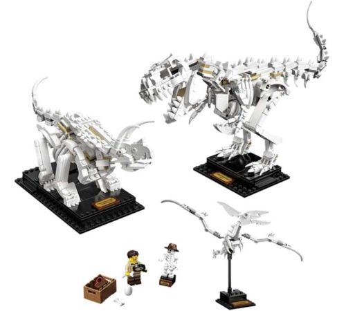 LEGO Dinosaur Fossils Robot Toy Building Kit