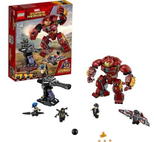 LEGO Marvel Super Heroes Avengers The Hulkbuster Robot Toy